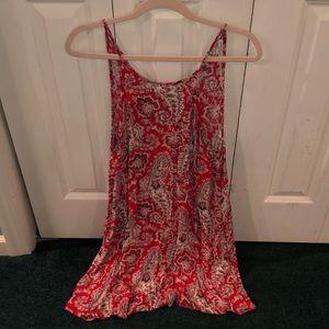 Orange Patterned American Eagle Summer Dress